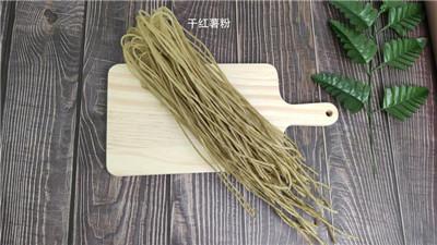 花生米炒制+干红薯粉的浸泡方法