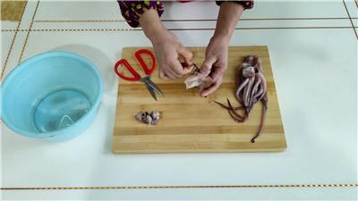 鱿鱼须的处理方法