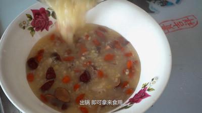红枣绿豆百合粥的做法