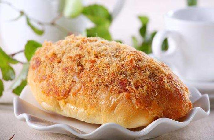 肉松面包培训效果图