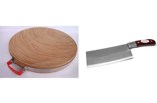 砧板,菜刀